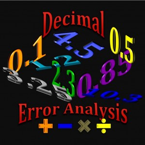 Decimal Error Analysis